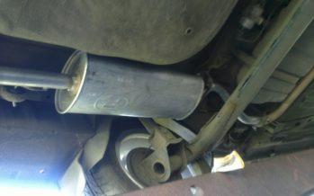 Ремонт выхлопной системы ВАЗ 2110: инструкция по замене глушителя