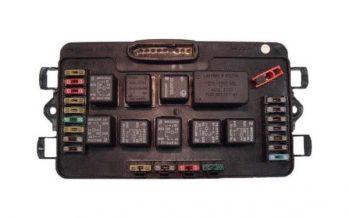 Схема блока предохранителей на инжекторной ВАЗ 2114
