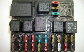 Монтажный блок на ВАЗ 2110: схема предохранителей