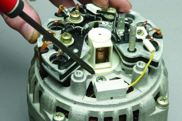 Ваз 2110: генератор и его неисправности