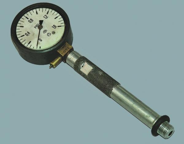Манометр для измерения давления в цилиндрах своими руками 85