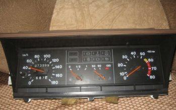 Схема приборов на высокой панели ВАЗ 2109