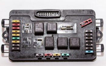 Монтажный блок с предохранителями на ВАЗ 2109 (схема)